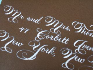 Hollywood Swirl (2) - Calligraphy by Jennifer