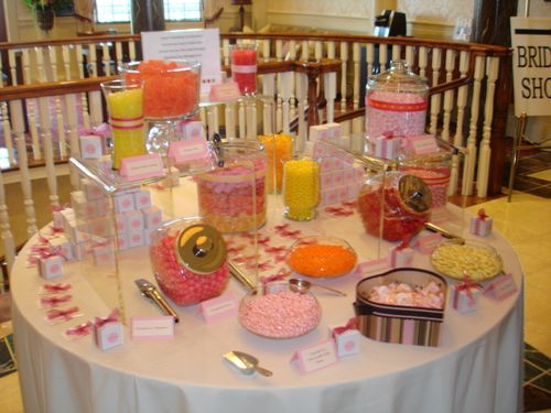 Everyone thinks chocolate is the most popular candy for these buffets